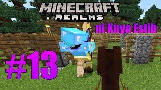 Minecraft Realm ni Kuya Estib #13 | Horse racing kami ni Sly