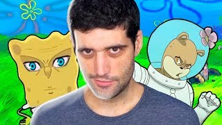 Reagindo a abertura de Bob Esponja versão anime, simplesmente INCRÍVEL