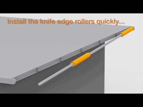 iglide knife edge rollers