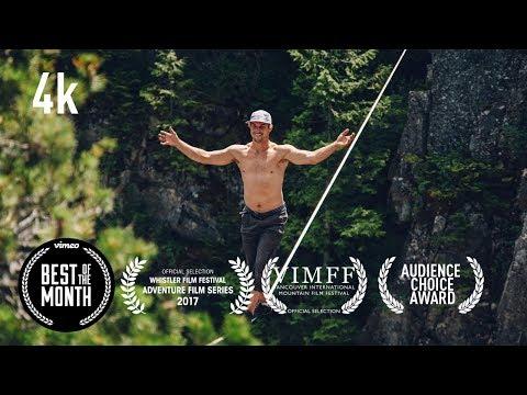 The Terrifying Art Of Free Solo Slacklining UNTETHERED - Full Documentary
