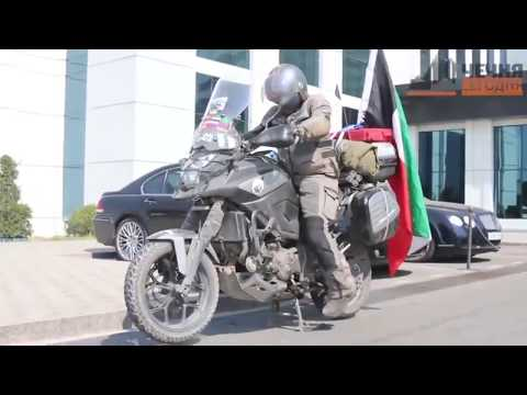 From Kuwait to Around the Globe on Motorcycle