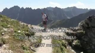 Mięguszowiecka Przełęcz pod Chłopkiem - Tatry Wysokie