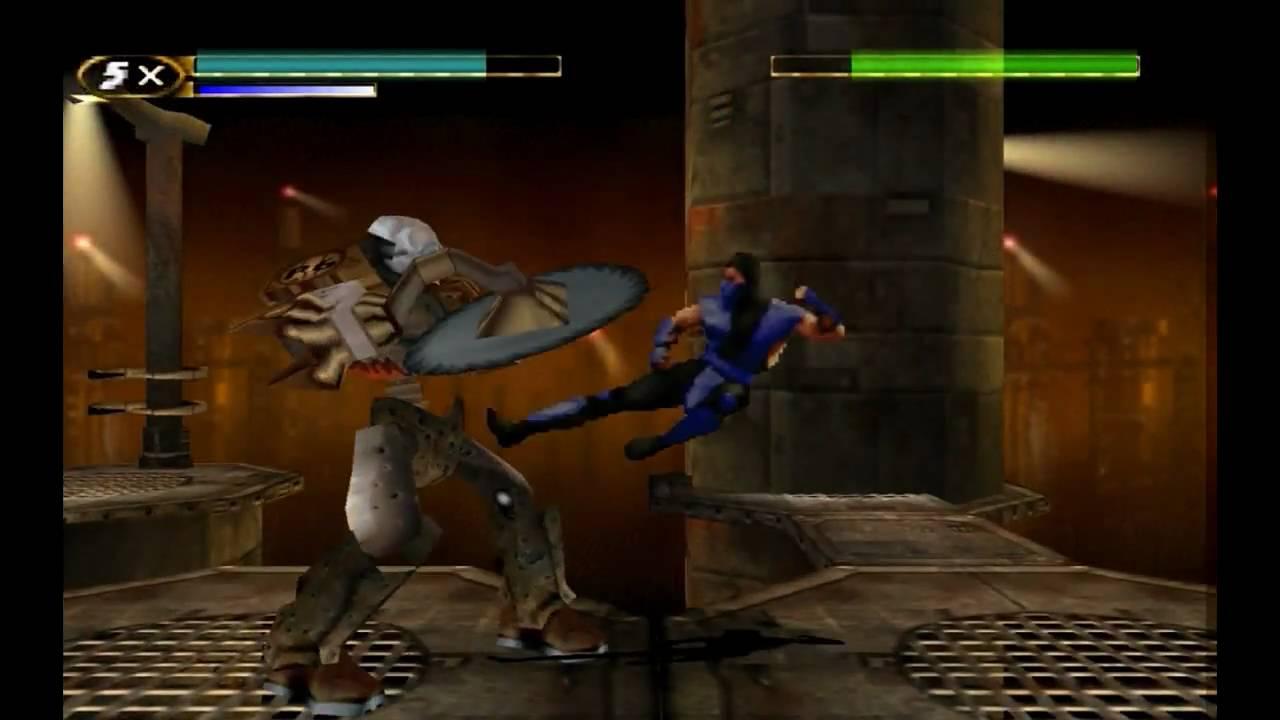 Mortal Kombat Mythologies Sub-Zero Level 6 - Scorpion and Part 2 HD