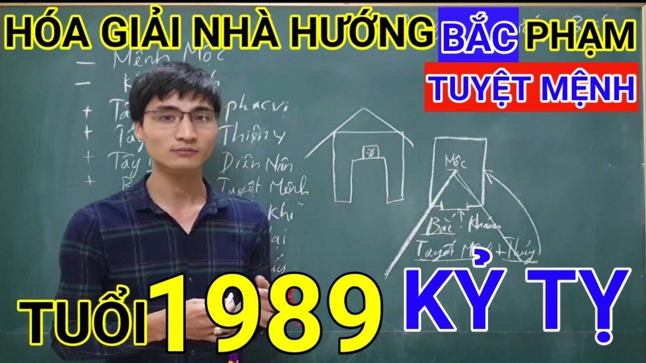Tuổi Kỷ Tỵ 1989 Nhà Hướng Bắc | Hóa Giải Hướng Nhà Phạm Tuyệt Mệnh Cho Tuoi Ky Ty 1989