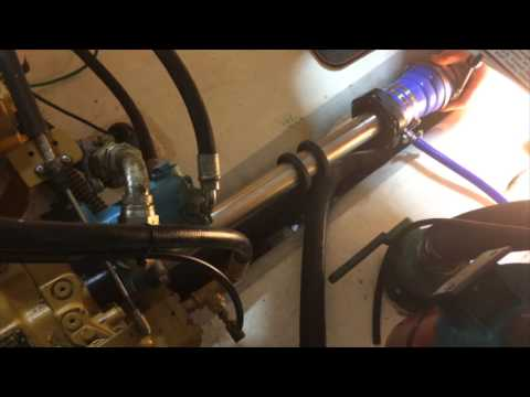 Yarmouth Boat Yard: Shaft Seal Maintenance and Replacement Caterpillar 3208