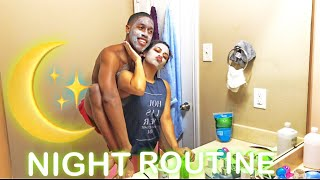 OUR NIGHTLY ROUTINE... (Carmen and Corey edition)