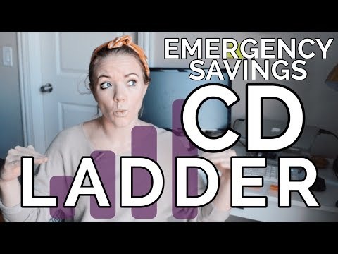 HOW TO BUILD A CD LADDER | Emergency Savings Fund
