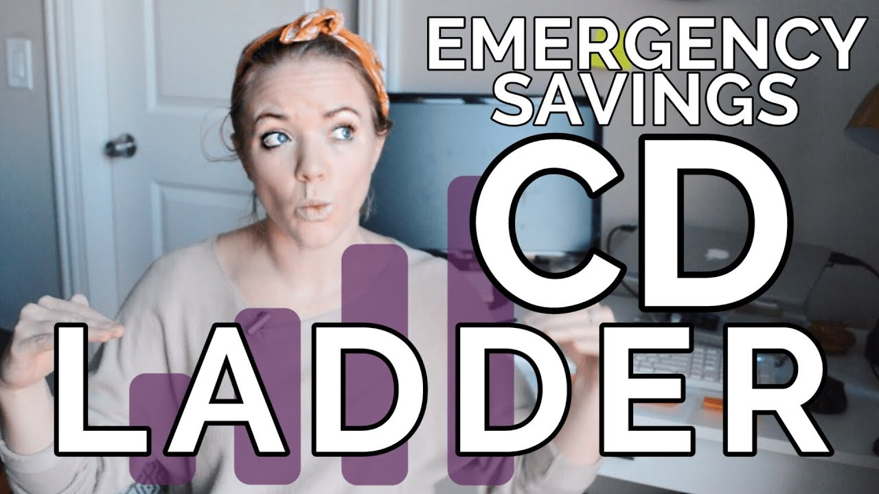Best Cd Ladder 2020 HOW TO BUILD A CD LADDER | Emergency Savings Fund   YouTube