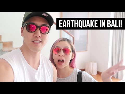EARTHQUAKE IN BALI!