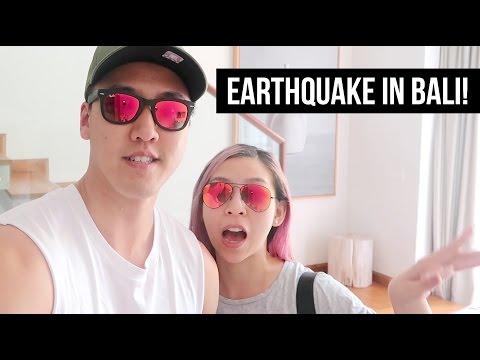 EARTHQUAKE IN BALI!