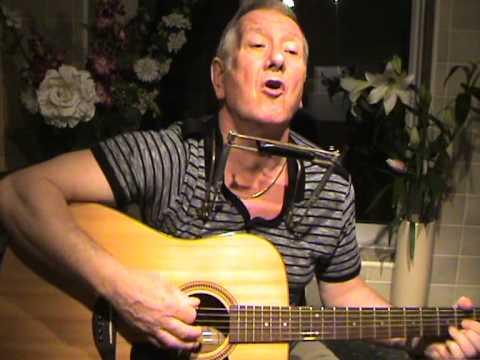 Ten Storey Love Song - The Stone Roses - acoustic cover - guitar/mouth organ - harp