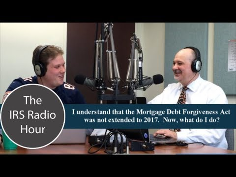 i-understand-that-the-mortgage-debt-forgiveness-act-was-not-extended-to-2017.-now,-what-do-i-do?