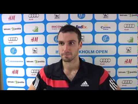 Ernests Gulbis Discusses His Win at the If Stockholm Open