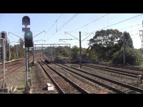 TrainSpotting In Metropolitan Sydney, 9th August 2015