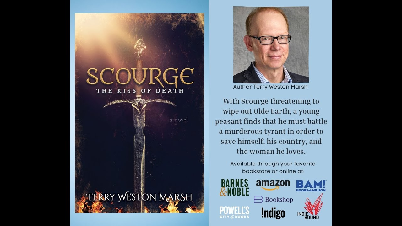 Morgan James Publishing Interview for Scourge by Terry Weston Marsh