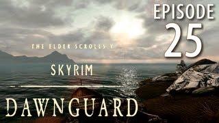 Skyrim: Dawnguard Walkthrough in 1080p, Part 25: Sneaking into Castle Volkihar (in 1080p HD)