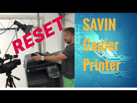 Resetting RICOH SAVIN LANIER SC Error Code Problem Main Board