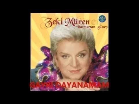 Zeki Müren Gayrı Dayanamam Ben Bu Hasrete - Zeki Müren Şarkıları Dinle  Türk Sanat Müziği زكي موران
