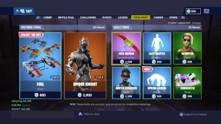 Fortnite battle royale March 24th item shop live countdown! Subscribe to get a shout out