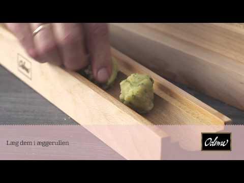 Sådan laver du flotte og ensartede påskeæg med en æggerulle