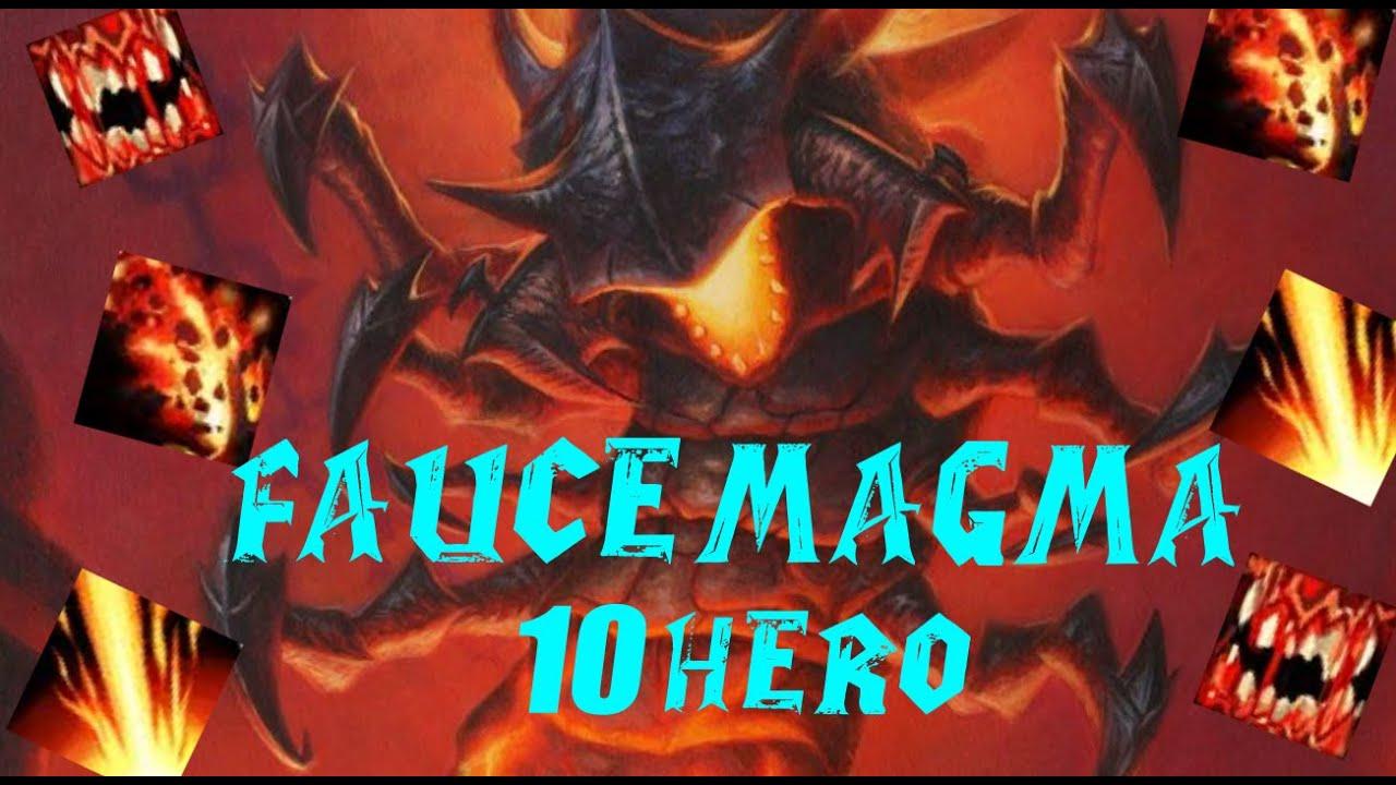 Descenso de Alanegra 10Hero - Faucemagma