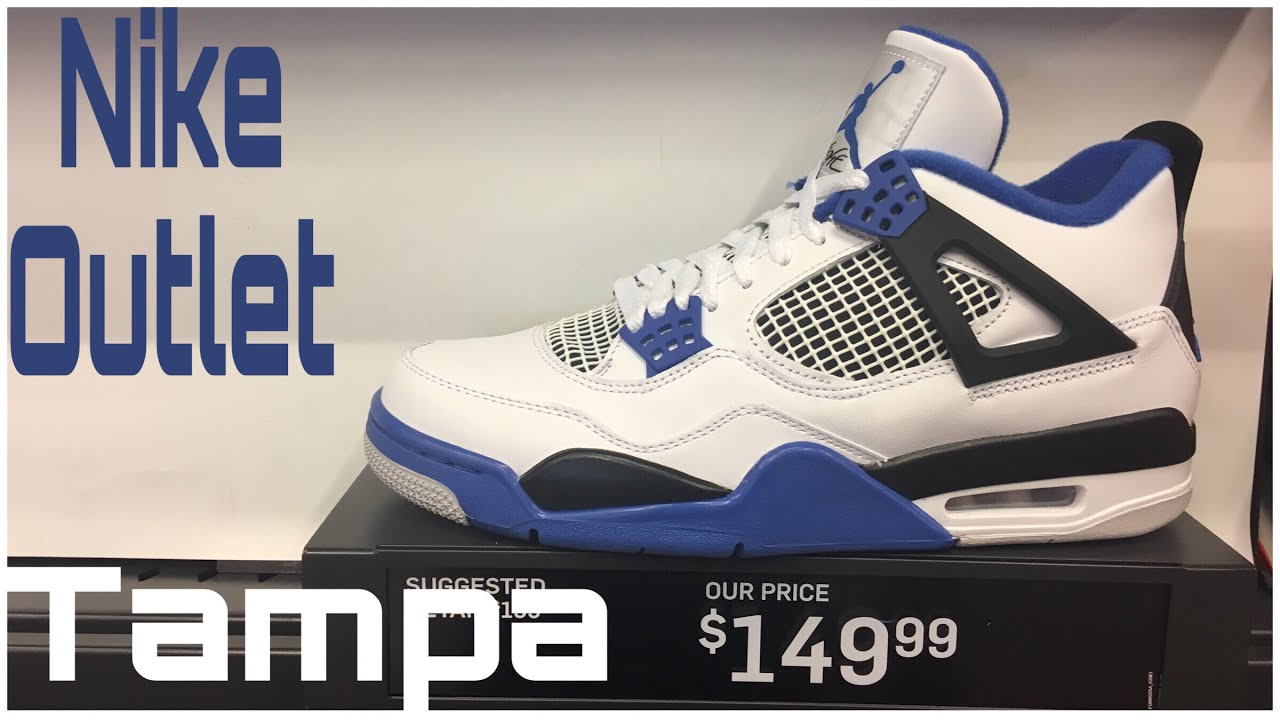 7ce3bc92f7 Nike Outlet Tampa, FL and Soleciety Sneaker Shop - YouTube