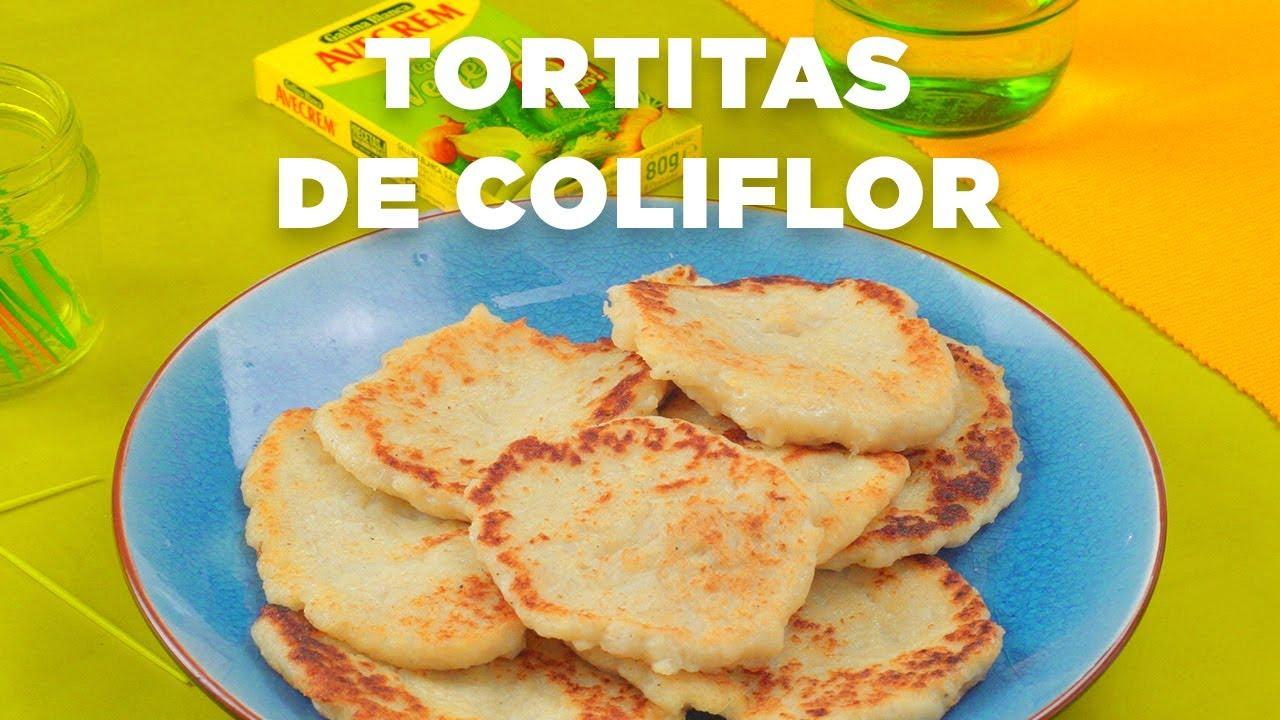 Tortitas de hacer coliflor como
