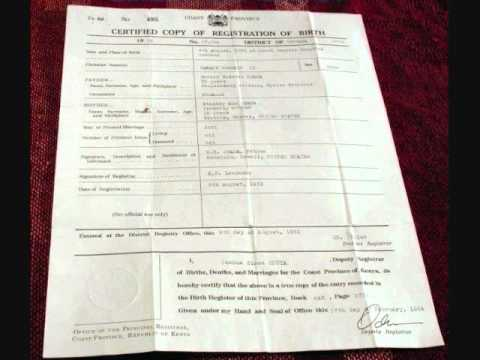Sam Slom Birth Certificate Interview