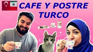 Cómo hacer café turco + El postre favorito del turco - Bisküvili Pasta | MEXICANA EN TURQUIA