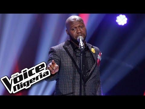 "Chuks Aniebonam sings "" Shape of my Heart"" / Blind Auditions / The Voice Nigeria Season 2"