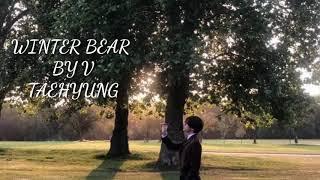 Lirik lagu korea terbaru (Winter Bear by V Taehyung)