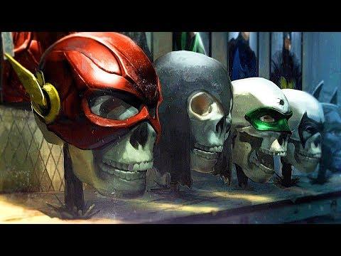The Death Of Justice League Scene - Injustice