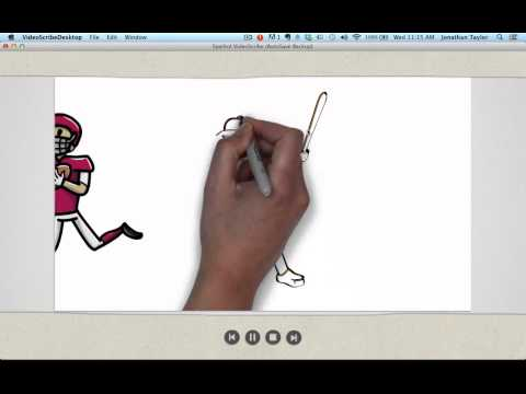Using VideoScribe: Tutorial - How to Set Camera Scale and Position on Drawings
