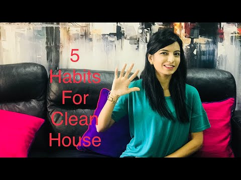 Habits for keeping a Clean House / Indian Cleaning Routine / How to Clean your house / organization