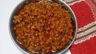 Salsa Boloñesa o tuco para pastas