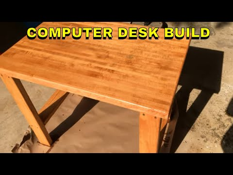 🔨 CHEAP AND EASY  📐 COMPUTER DESK BUILD  🖥️ DIY Gaming Desk