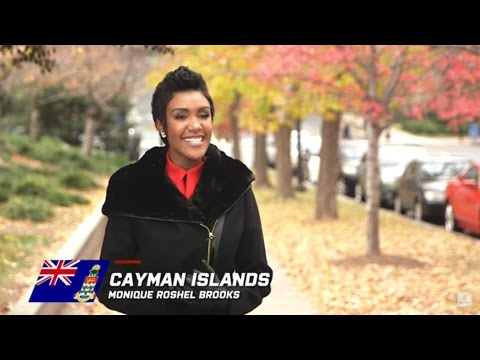 CAYMAN ISLANDS, Monyque Roshel Brooks - Contestant Profile: Miss World 2016