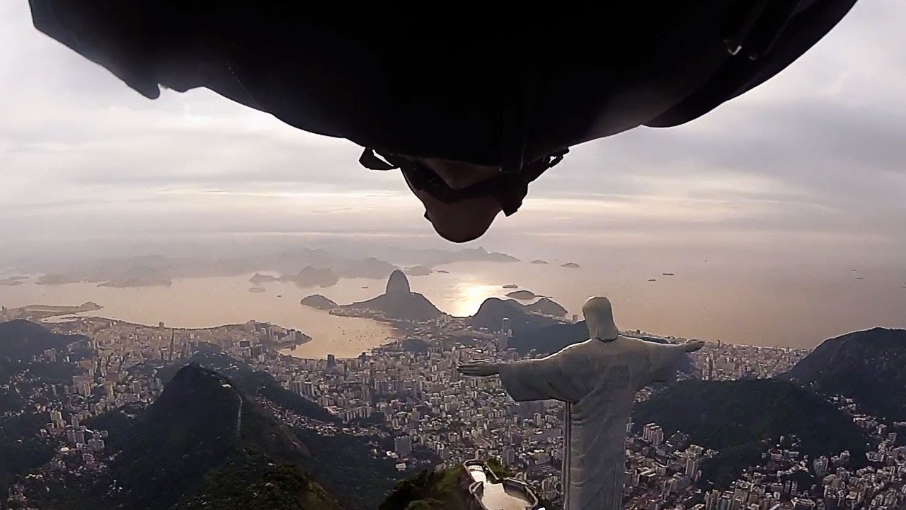 Wingsuit Flight Under Arm of Christ Statue in Rio de Janeiro I The Perfect Flight, ep.1