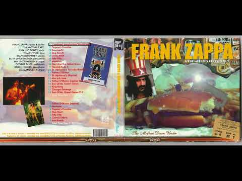Frank Zappa - The Mothers Down Under Full Album 2CD Rare Bootleg
