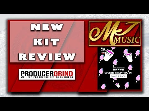 Codeine Crazy Construction Kit Review And Demo - DOPE BEAT ALERT!