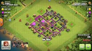 Calsh of clan attacking stratigies for th 7 by hogs