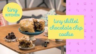 Tiny Skillet Cookie | Tiny Kitchen