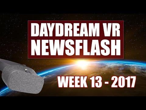 Daydream VR News Week 13 - 2017: Vendetta Online, SculptrVR & No Daydream on Samsung Galaxy S8