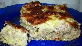 Кабачковый пирог с мясом. Вкуснятина!