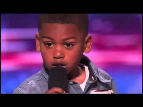 Howard Stern Makes 7 year old Rapper Cry on America's Got Talent