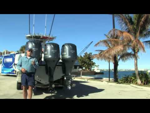 Take a Yamaha Demo Ride at the Miami Boat Show with Capt George Mitchell