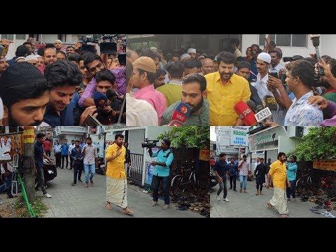 മമ്മൂട്ടിയുടെയും ദുൽഖറിന്റെയും പെരുന്നാൾ   Mammootty Dulquar Salmaan Eid celebration 2019