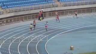 簡媛暄400公尺跨欄決賽