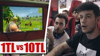 SAATİ 1TL İNTERNET vs. 10TL İNTERNET CAFE!