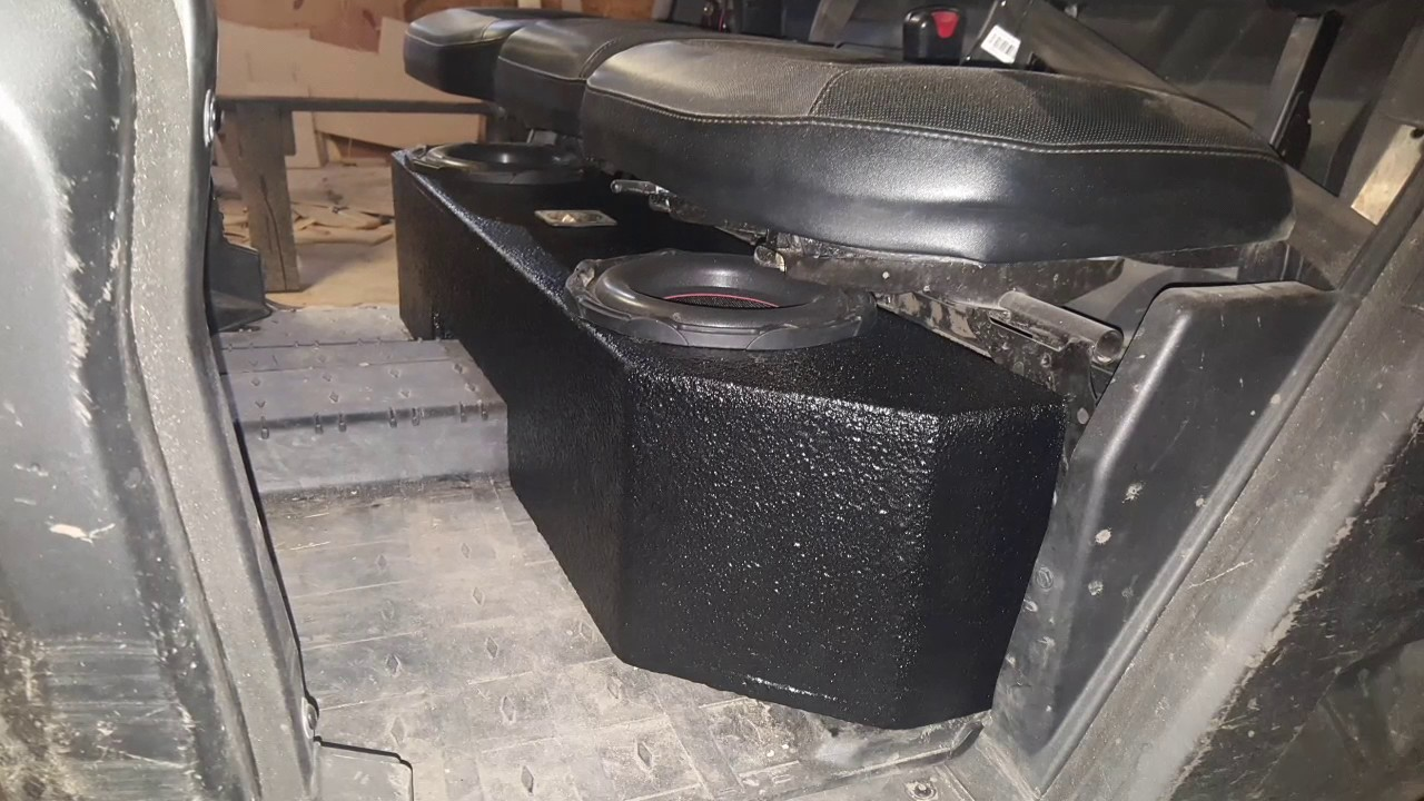 Can Am Defender Sound System Voltage Drop Youtube